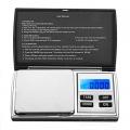 Компактна преносима везна с капаче, LCD дисплей, точност 0,01 гр