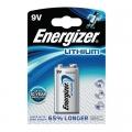 Литиева батерия Energizer Ultimate 9V 6LR61