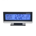 Дигитален настолен часовник DS-3618 с термометър, аларма будилни