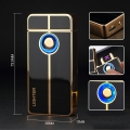 Запалка с волтова дъга, сензорен бутон и USB LIGHTER ZC1701