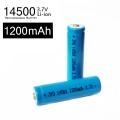 Батерия литиевойонна акумулаторна 14500 1200mAh 3.7V
