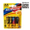 Усилена карбонова батерия ROBUST PLUS ULTRA CARBON BATTERY AA, R