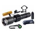 Прожектор за ловна пушка X-Balog BL-Q01-T6 със стойка за монтаж
