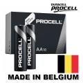 Батерия DURACELL PROCELL AA, LR6, MN1500 1.5V Произведени в Белг