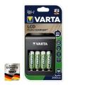 Нов модел зарядно устройство VARTA LCD Plug Charger Plus може да