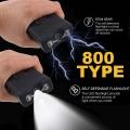 Електрошок TYPE800 с токов удар много силен и шумен, което може