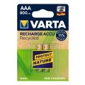 Акумулаторни батерии VARTA Recharge Accu Recycled 800 mAh AАA 1.