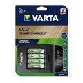 Бързо зарядно устройство VARTA LCD SMART CHARGER PLUS с 2100 mAh