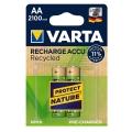 Акумулаторни батерии VARTA Recharge Accu Recycled AA 2100 mAh 1.